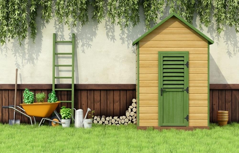 Outdoor Storage: Benches, Cabinets, Sheds, And Portable Buildings